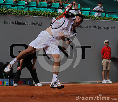Tennis Power Horse World Team Cup 2012 Editorial Stock Photo