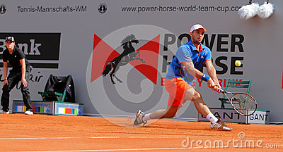 Tennis Power Horse World Team Cup 2012 Editorial Photo