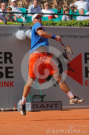 Tennis Power Horse World Team Cup 2012 Editorial Stock Image