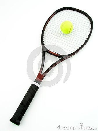 Free Tennis Racket And Ball Stock Photo - 237510