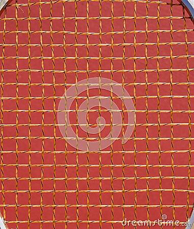 Tennis racket background