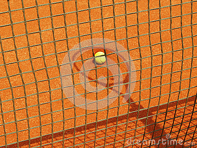 Tennis racket shadow (55)