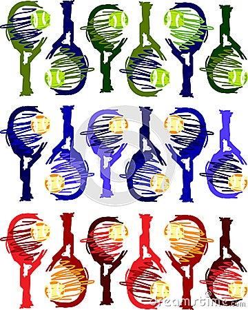 Tennis Racquet Images Vector