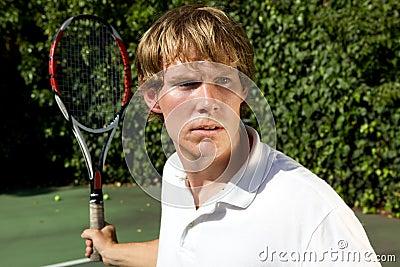 Tennis Return Shot