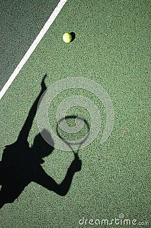 Free Tennis Serve Stock Image - 1150621