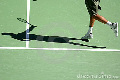 Tennis shadow 08