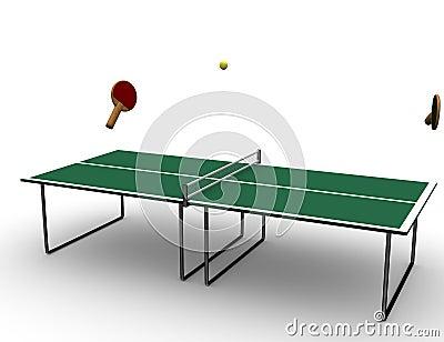 Tennis table.