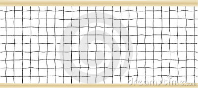 Tennis or Volleyball Net Vector illustration