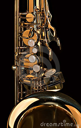 Free Tenor Sax Close Up Royalty Free Stock Images - 1901509