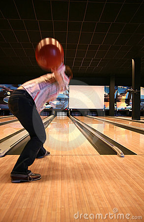 Free Tenpin Bowling Stock Photo - 1024460