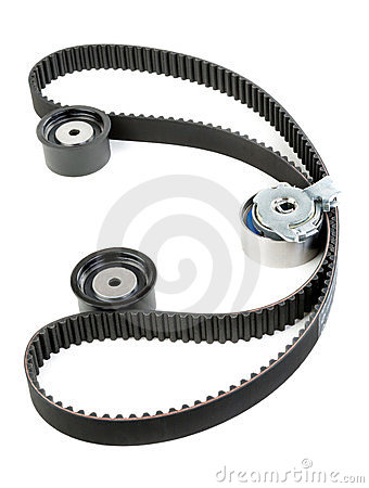 Tension pulley and timing belt