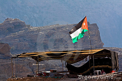 Tent in Petra - Jordan