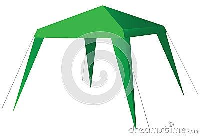Tent Solar Flare