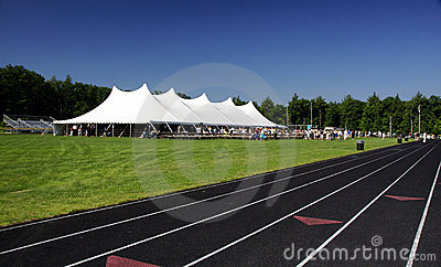 Tent and Track