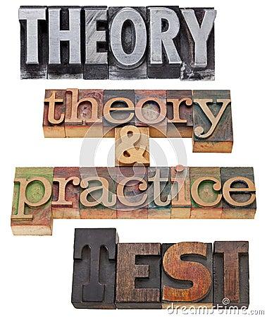 Teoría, práctica y prueba