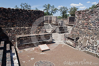 Teotihuacan Altar Mexico