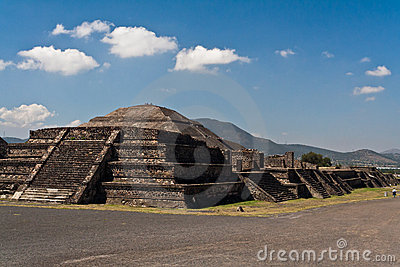 Teotihuacan mexico pyramider