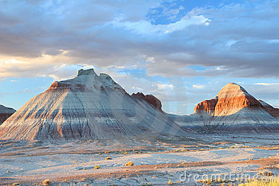 Tepee Rock Formations - Petrified Forest