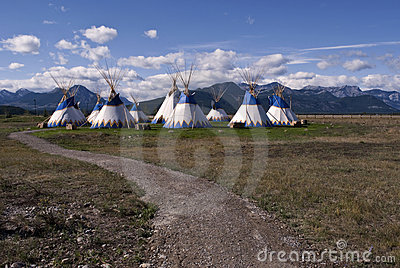 tepees village