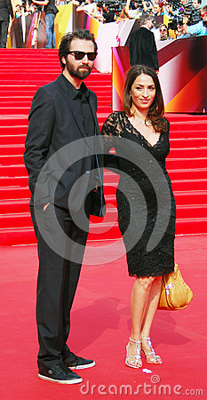 Tepegoz and Arikan at Moscow Film Festival Editorial Stock Photo