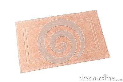 Teppich oder Fußmatte für Reinigungsfüße