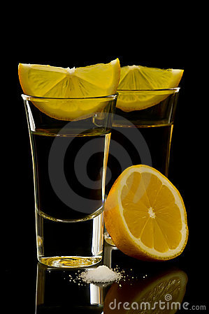 Free Tequila Shots Royalty Free Stock Photos - 18240258
