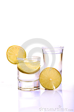 Free Tequila Shots Royalty Free Stock Photography - 28301747