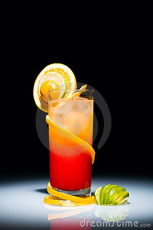 Free Tequila Sunrise Royalty Free Stock Images - 3696159