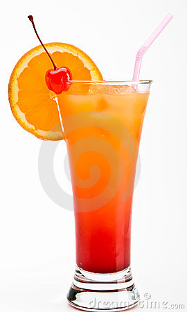Free Tequila Sunrise Cocktail Stock Photo - 8826910