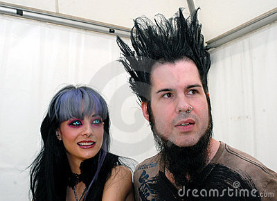 Tera Wray and Wayne Static Editorial Photo