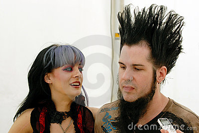 Tera Wray and Wayne Static Editorial Photography