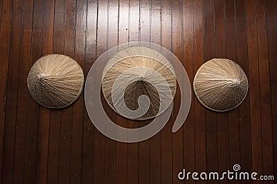 Terendak-hats for farmers
