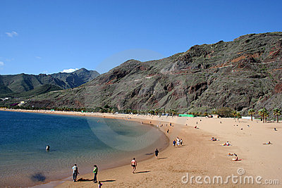 Teresitas beach of Tenerife