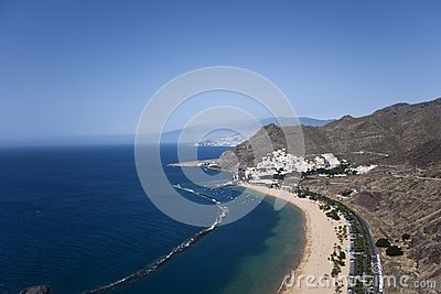 Teresitas beach, Tenerife, Canary Islands