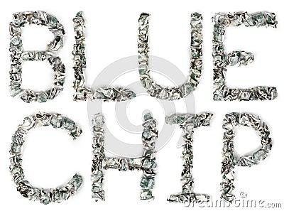 Blue Chip - Crimped 100$ Bills