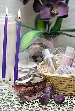 Termas violetas