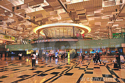 Terminal 3, Changi Airport, Singapore Editorial Photo