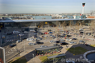 Terminal 3 at Heathrow airport Editorial Stock Image