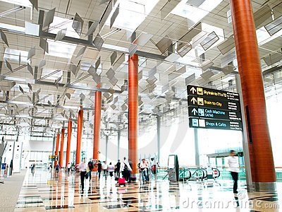 Terminal de aeroporto 3 de Singapore Changi