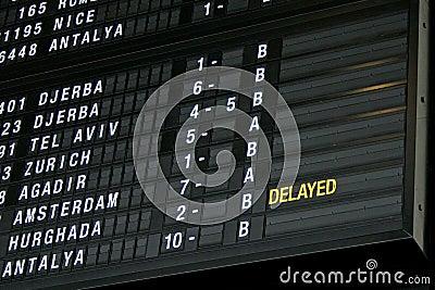Terminal Info Board - 01