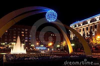Terminal South Station, Kharkov, Ukraine Editorial Stock Photo