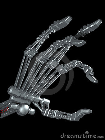 scientist, control robotic hand with thoughts