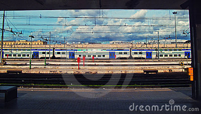 Termini train station Editorial Stock Photo