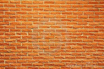 Terra cotta brick wall