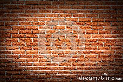 Terra cotta brick wall background