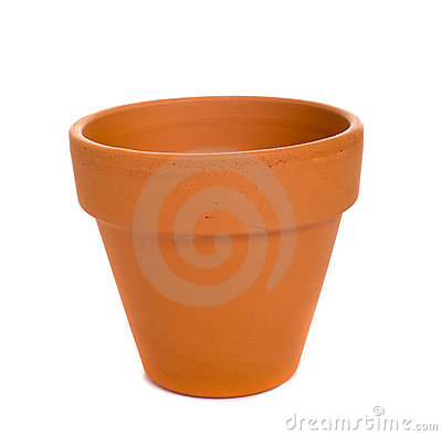 Free Terra Cotta Flower Pot Royalty Free Stock Photography - 5217797