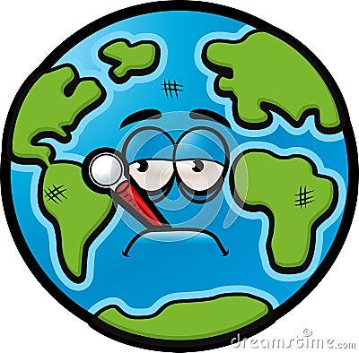 Fotografia de Stock Royalty Free: Terra doente. Imagem: 3341867