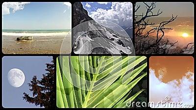Terra maravilhosa, montagem vídeos de arquivo