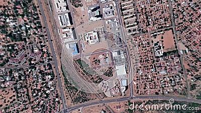 A terra zumbe dentro zumbido para fora de Gaborone Botswana filme