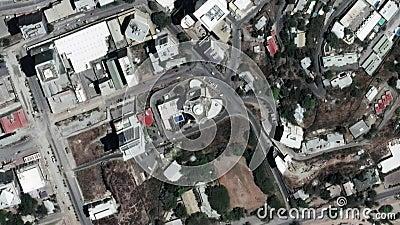A terra zumbe dentro zumbido para fora de Port Moresby Papuásia-Nova Guiné video estoque